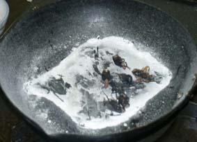 ヤマトゴキブリの塩焼き
