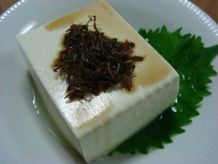 カマキリ豆腐