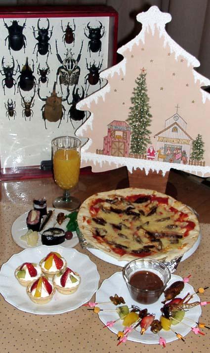 クリスマスムシディナー